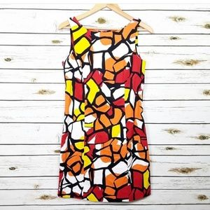 Peter Nygard multi-colored dress